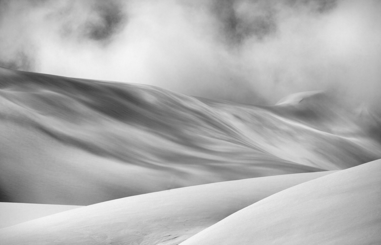 Snow, Clouds, Shadows, Landscape, Beauty, Winter, Snow, Curves, Wind lips, Weather, Land shapes