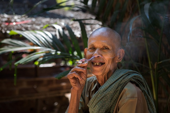 Burma, Myanmar, Ogre, Village, Travel, Rural, Bad Teeth, Smoke, Mawlamyine, Bald,