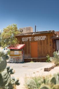 Cute gift shop in Joshua Tree.