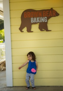 Brown Bear Baking cafe on Orcas Island.
