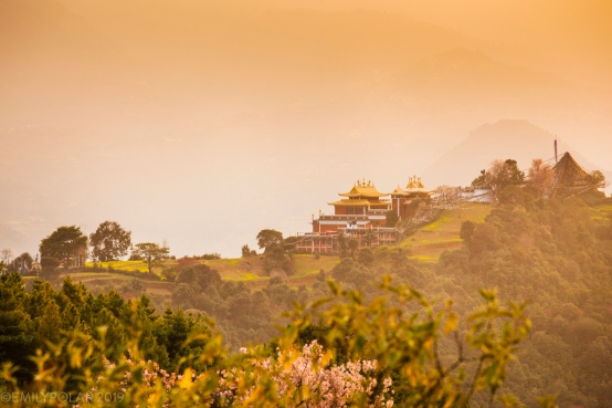 Thrangu Tashi Yangtse Monastery also known as Namo Buddha rests on a ridge about 40km outside of the Kathmandu valley. A beautiful monastery surrounded by nature, terraced fields and Tamang/Dalit villages.